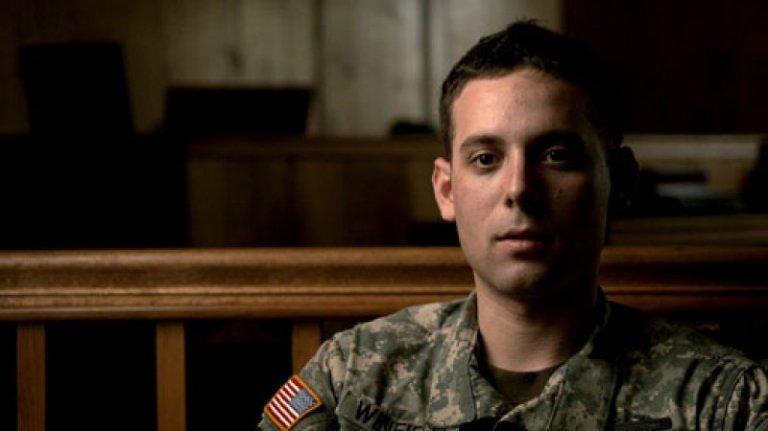 Adam Winfield en el documental The Kill Team