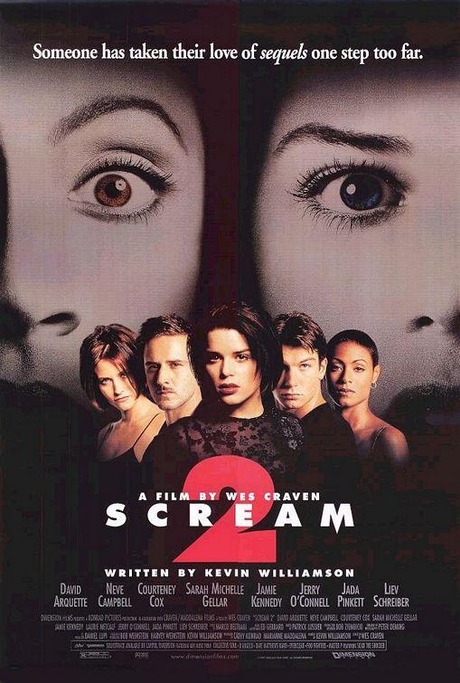 Poster de Scream 2