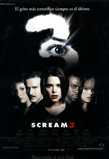 Poster de Scream 3