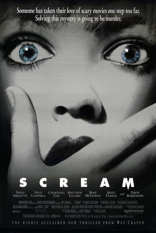 Poster de Scream