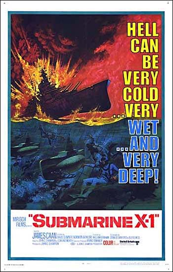 Poster de Submarine X-1