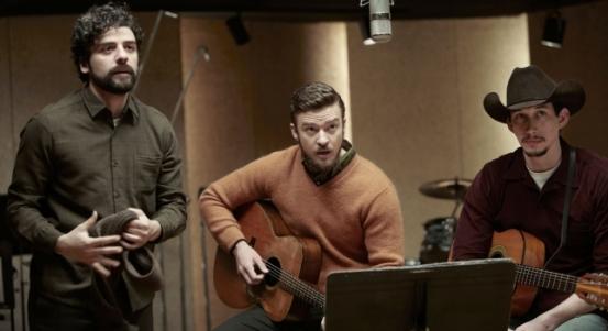 Oscar Isaac, Justin Timberlake y Adam Driver en A Propósito de Llewyn Davis