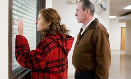 Susan Sarandon y Tommy Lee Jones en En el Valle de Elah