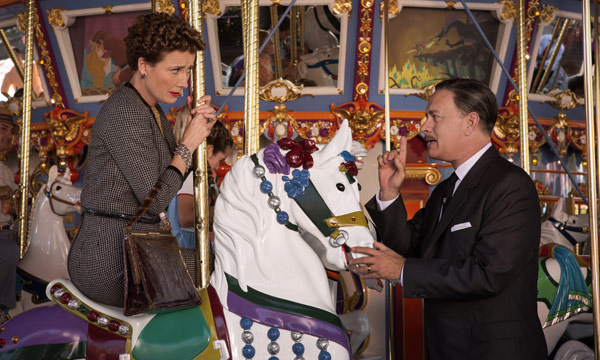 Emma Thompson y Tom Hanks en Al Encuentro de Mr. Banks