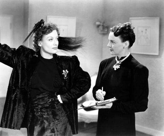 Joan Crawford en Mujeres