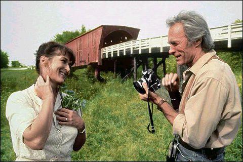 Meryl Streep y Clint Eastwood en Los Puentes de Madison
