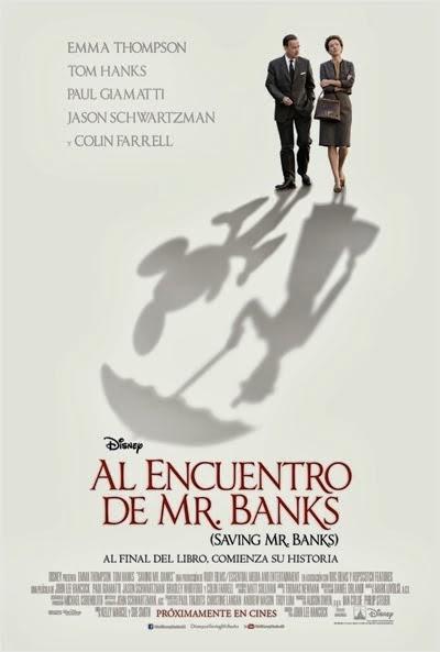 Poster de Al Encuentro de Mr. Banks