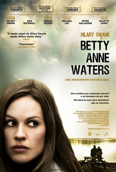 Poster de Betty Anne Waters