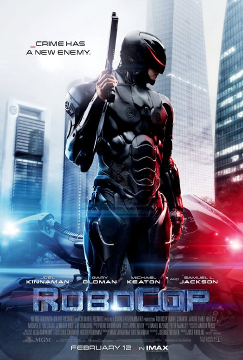 Poster de Robocop 2014