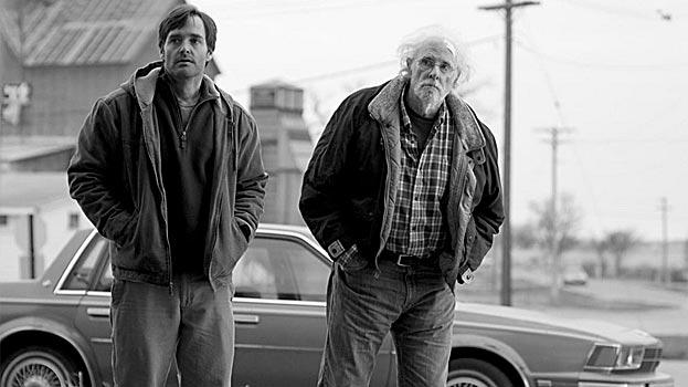 Will Forte y Bruce Dern en Nebraska