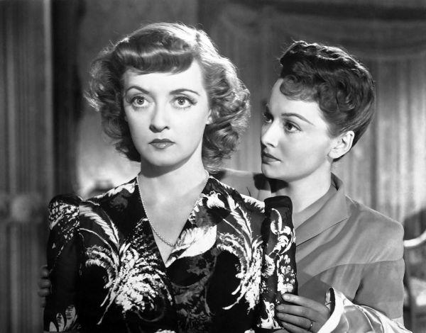 Bette Davis y Olivia de Havilland en Como Ella Sola