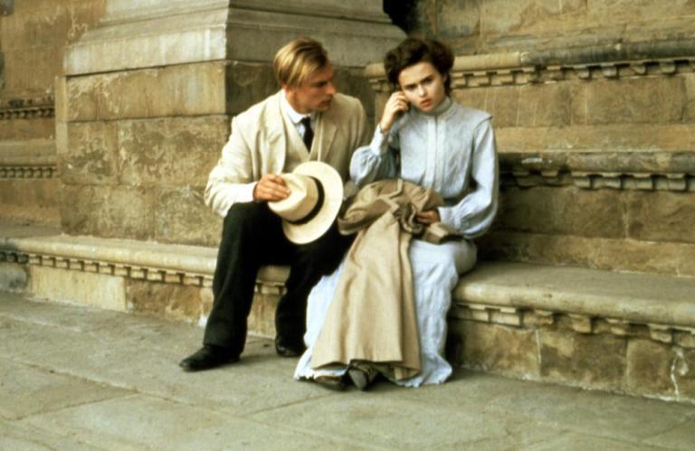 Julian Sands y Helena Bonham Carter en Una Habitación con Vistas