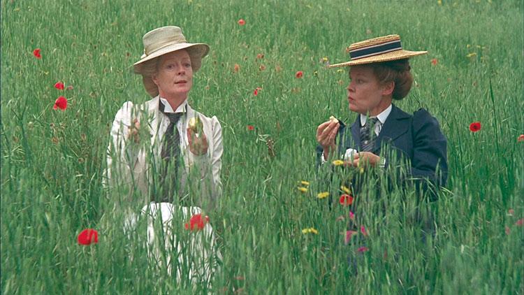 Maggie Smith y Judi Dench en Una Habitación con Vistas