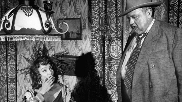 Marlene Dietrich y Orson Welles en Sed de Mal