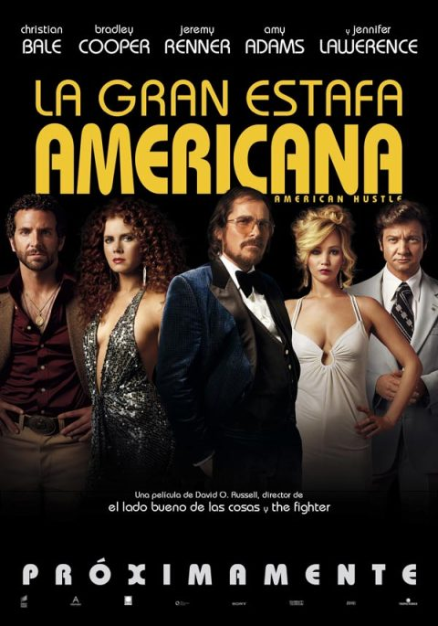 Poster de a Gran Estafa Americana