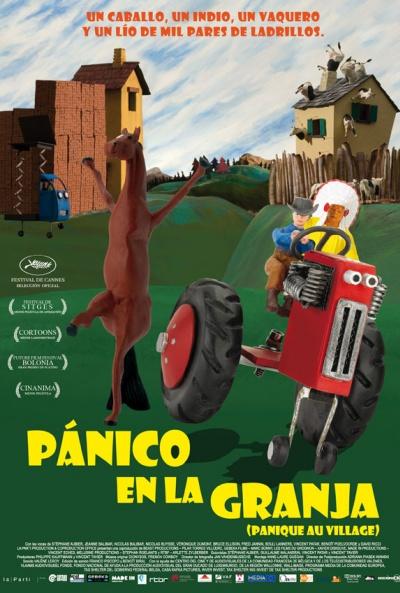 Poster de Pánico en la Granja