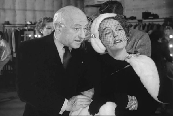 Cecil B. DeMille y Gloria Swanson en El Crepúsculo de los Dioses