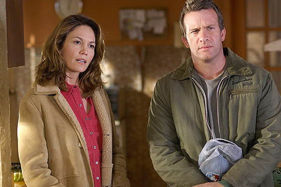 Diane Lane y Thomas Jane en Tiro Mortal