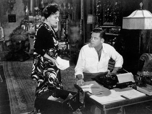 Gloria Swanson y William Holden en El Crepúsculo de los Dioses