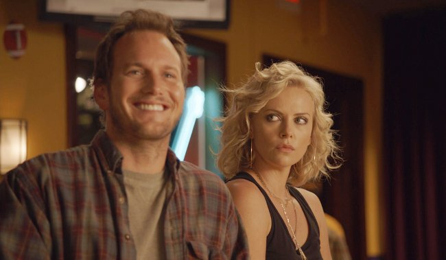 Patrick Wilson y Charlize Theron en Young Adult