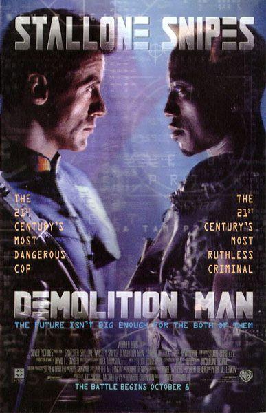 Poster de Demoliton Man
