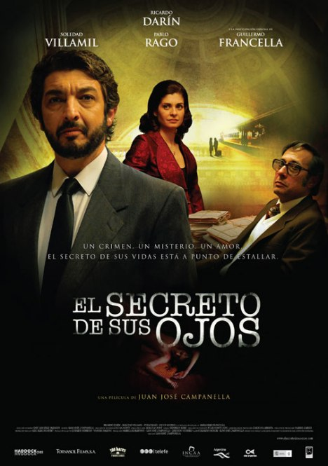 Poster de El Secreto de sus Ojos
