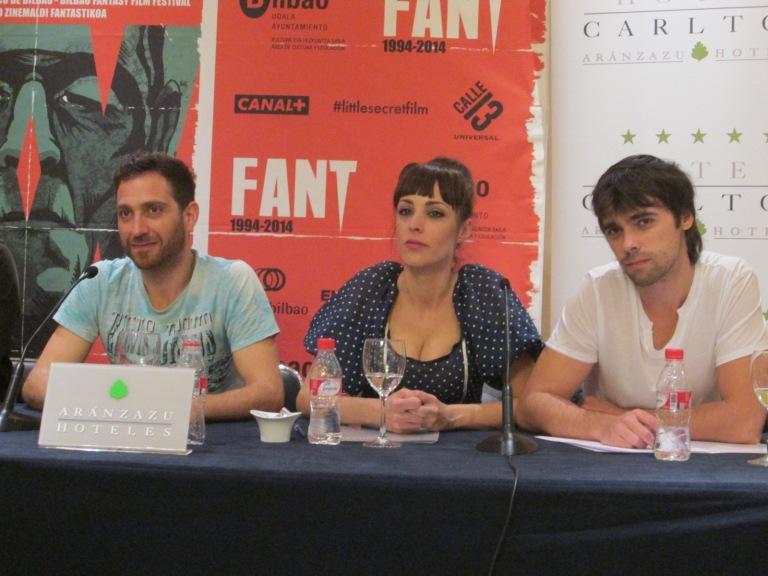 Xoel Fernández, Eva García-Vacas y Jorge Páez de La Cueva, FANT 2014