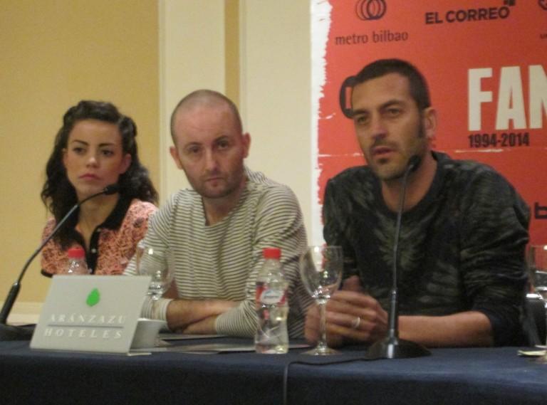 Marta Castellote, Marcos Ortiz y Alfredo Montero de La Cueva, FANT 2014