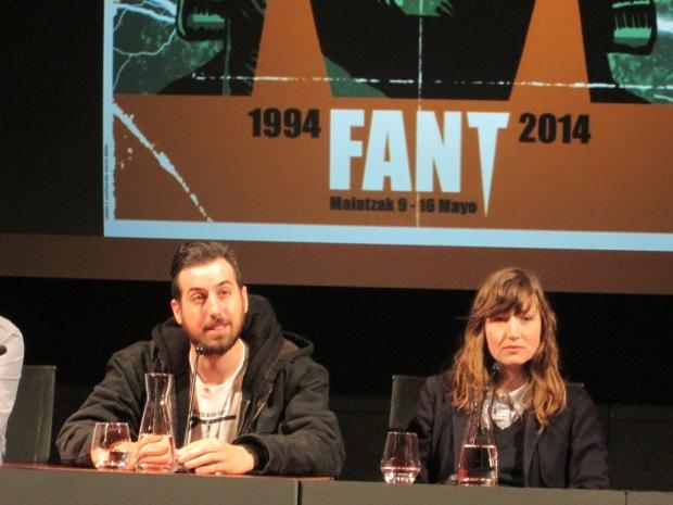 Ti West y Kate Lyn Sheil en el FANT 2014
