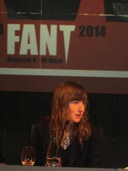 Kate Lyn Sheil en el FANT 2014