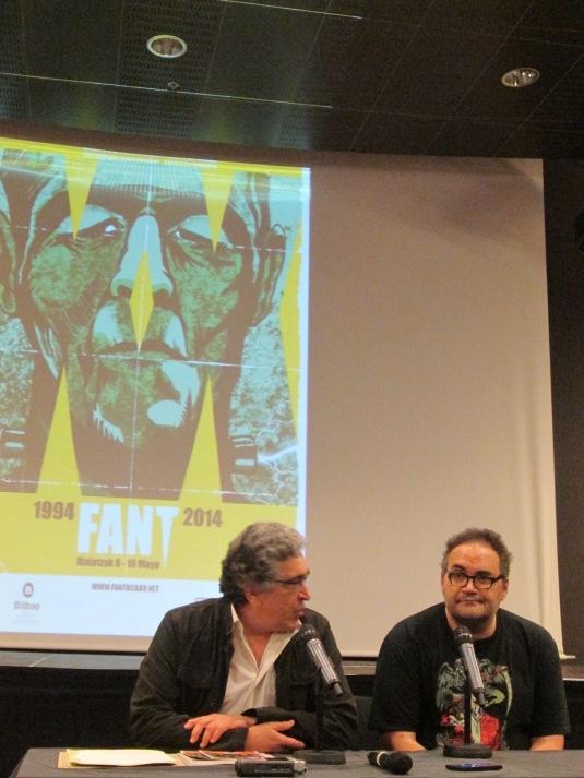 Justo Ezenarro y Norberto Ramos del Val en el FANT 2014