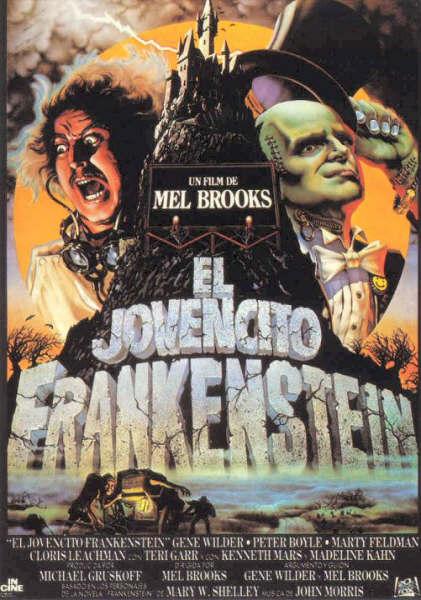 Poster de El Jovencito Frankenstein