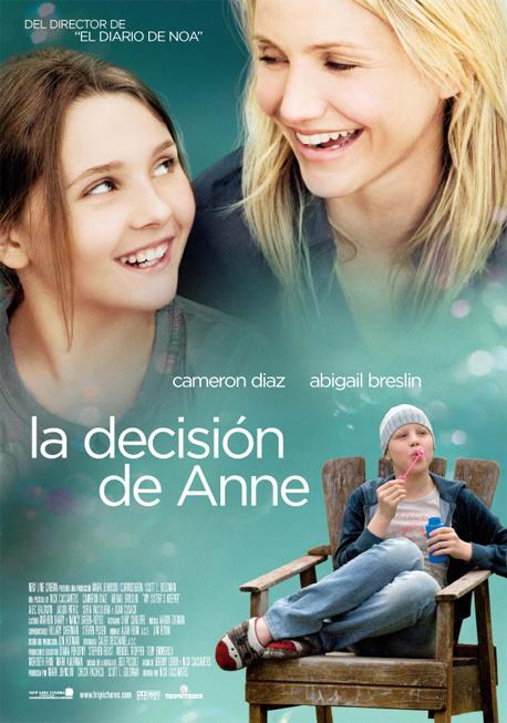 Poster de La Decisión de Anne