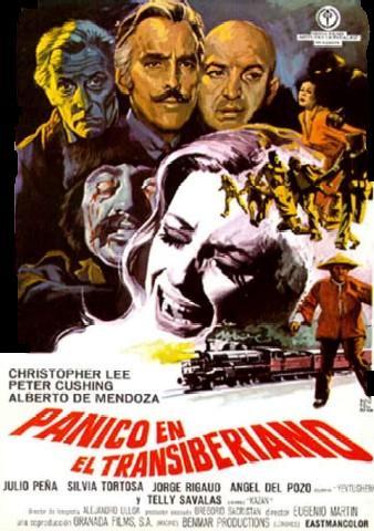 Poster de Pánico en el Transiberiano