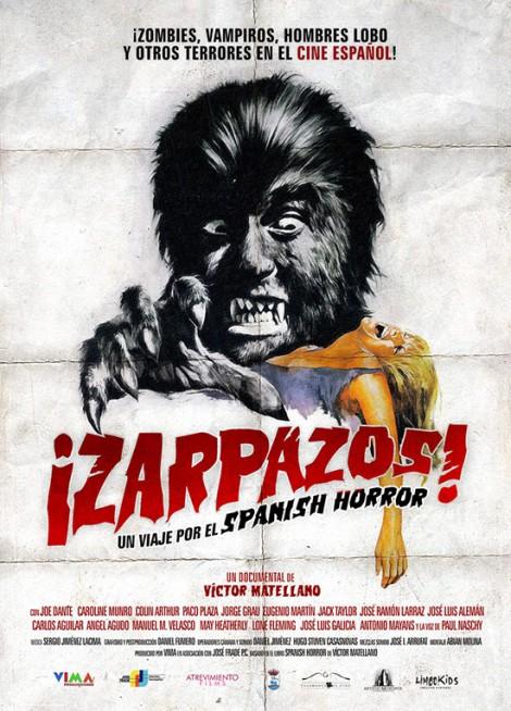 Poster de Zarpazos! Un Viaje por el Spanish Horror