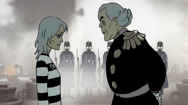 Robin Wright y Danny Huston animados en The Congress