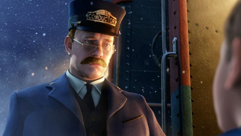 Tom Hanks en Polar Express