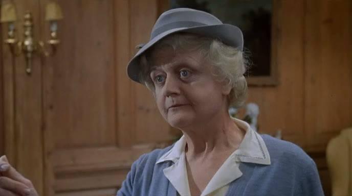 Angela Lansbury en El Espejo Roto