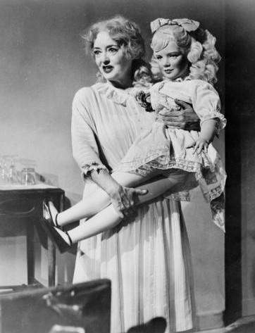 Bette Davis en ¿Qué fue de Baby Jane?