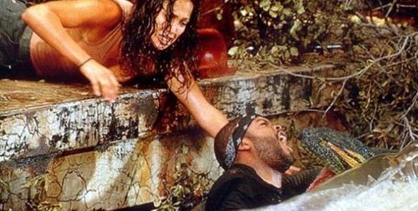 Jennifer López y Ice Cube en Anaconda