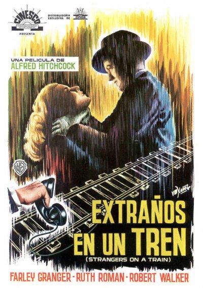 Poster de Extraños en un Tren