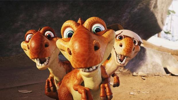 Bebés dinosaurio de Ice Age 3