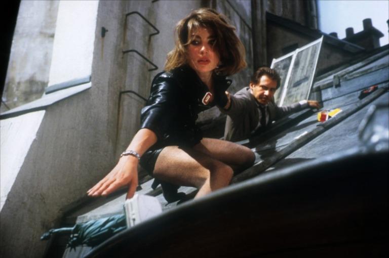 Emmanuelle Seigner y Harrison Ford en Frenético