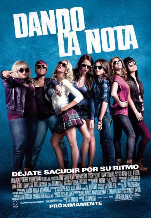 Poster de Dando la Nota (Pitch Perfect)