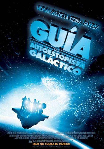 Poster de Guía del Autoestopista Galáctico