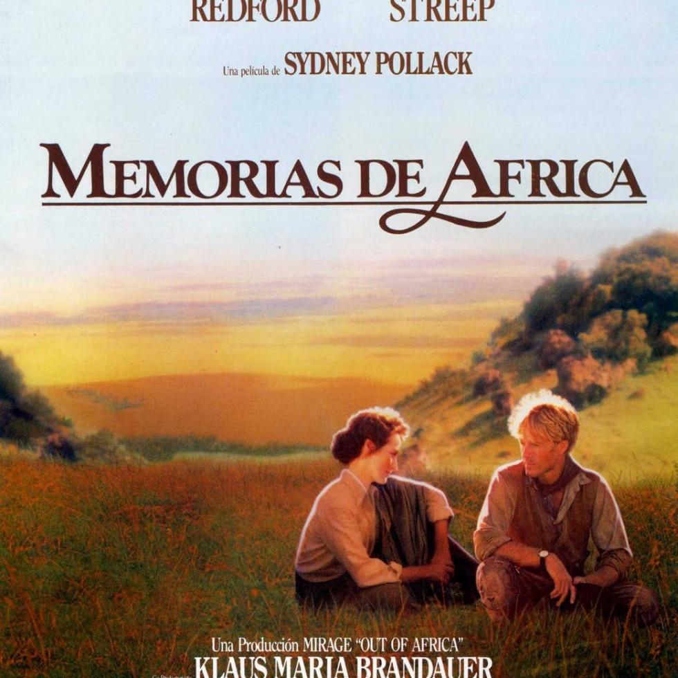 Poster de Memorias de África