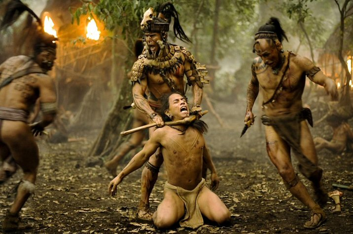 Rudy Youngblood, Raoul Trujillo y Gerardo Taracena en Apocalipto