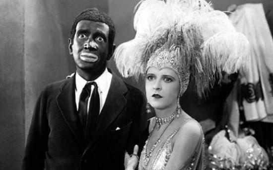 Al Johnson y May McAvoy en El Cantor de Jazz