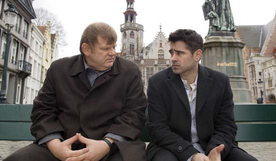 Brendan Gleeson y Colin Farrell en Escondidos en Brujas