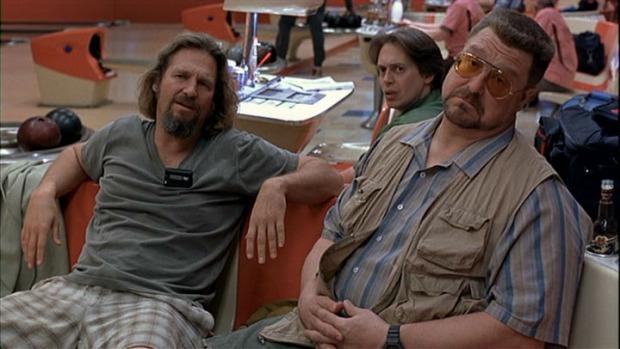 Jeff Bridges, Steve Buscemi y John Goodman en El Gran Lebowski